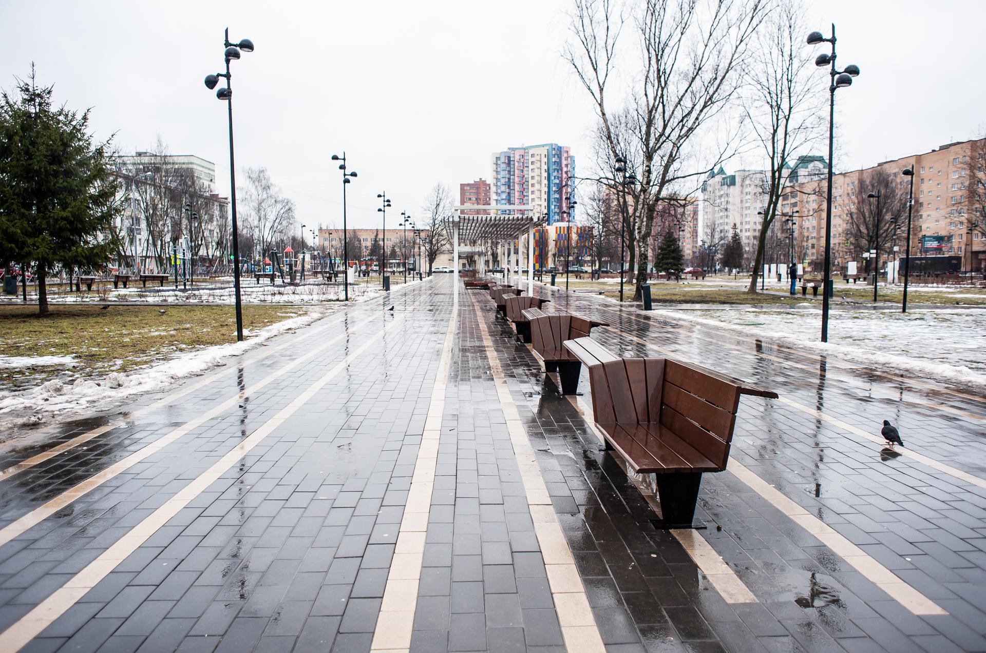 Ивантеевка, центральный сквер