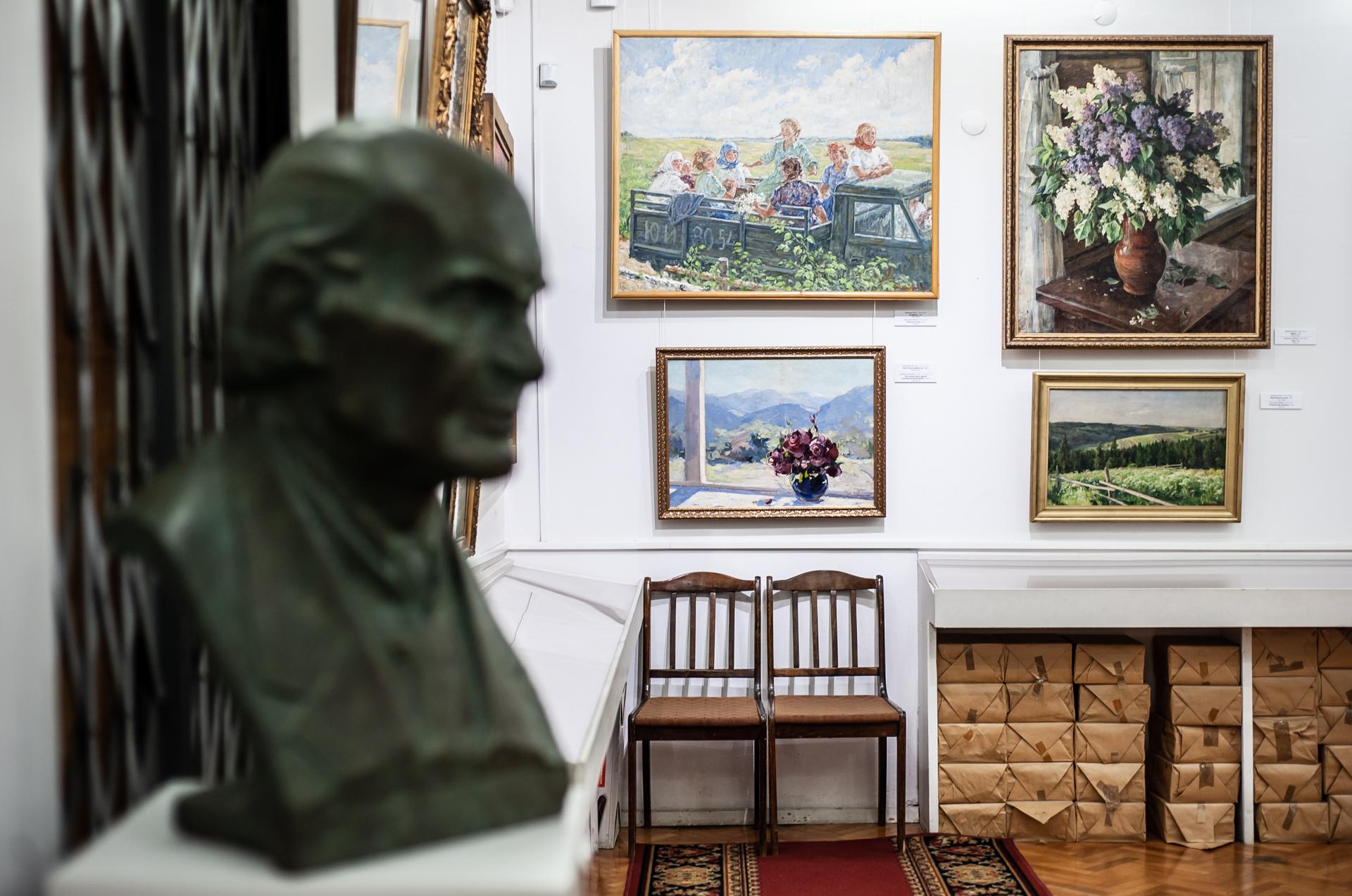 Химки, картинная химкинская галерея имени С.Н. Горшина
