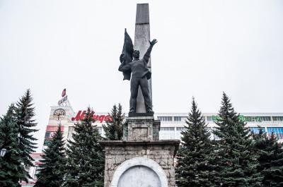 Орехово-Зуево, Пл. Двор Стачки