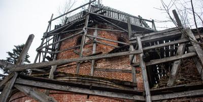 Село Храброво, Церковь покрова пресвятой Богородицы
