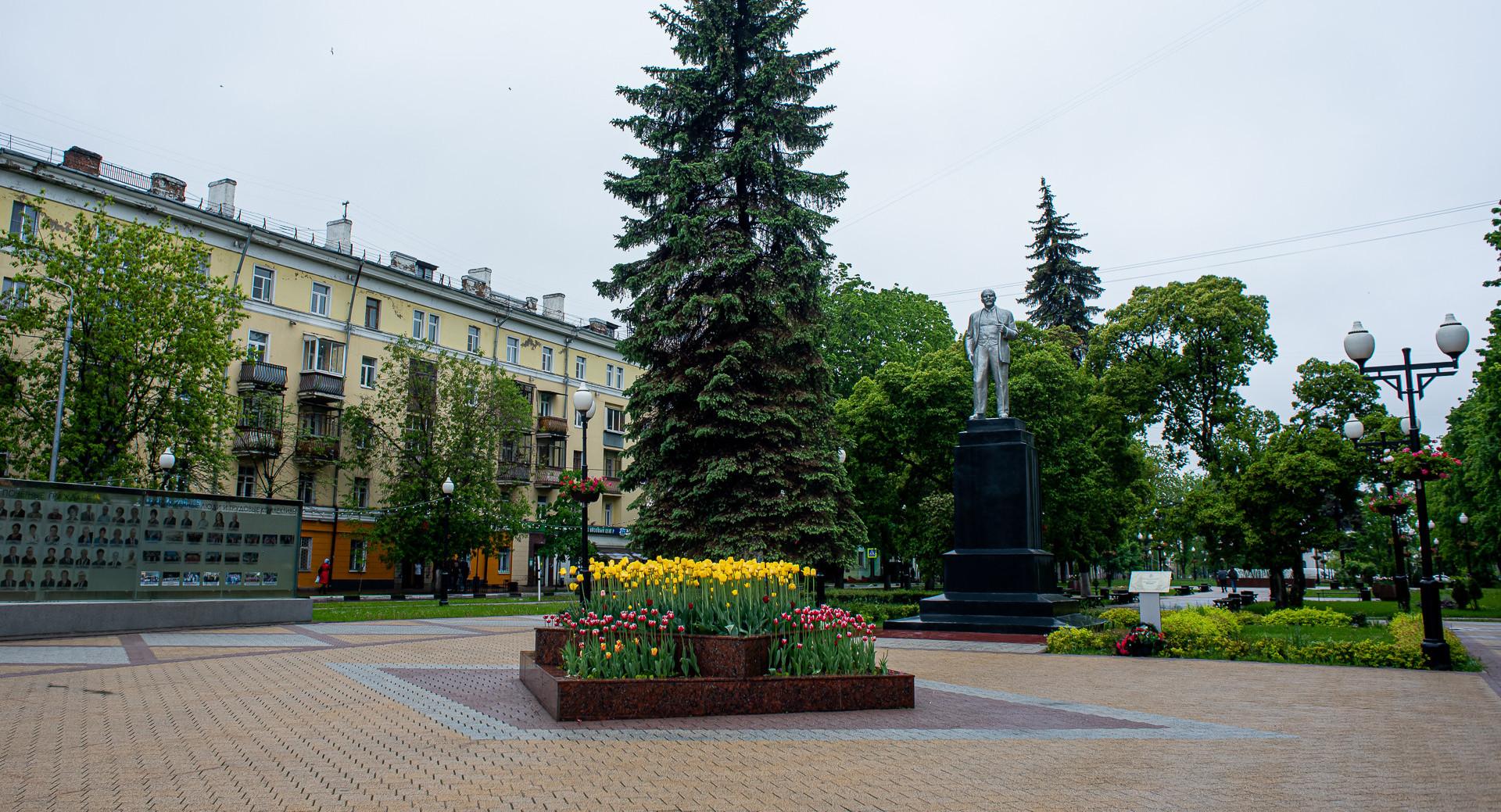 Балашиха, памятник Ленину