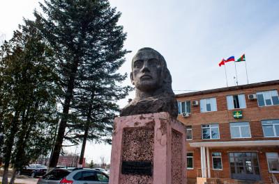 Рошаль, монумент Семёну Григорьевичу Рошалю