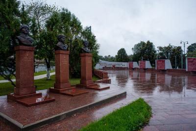Волоколамск, Октябрьская площадь