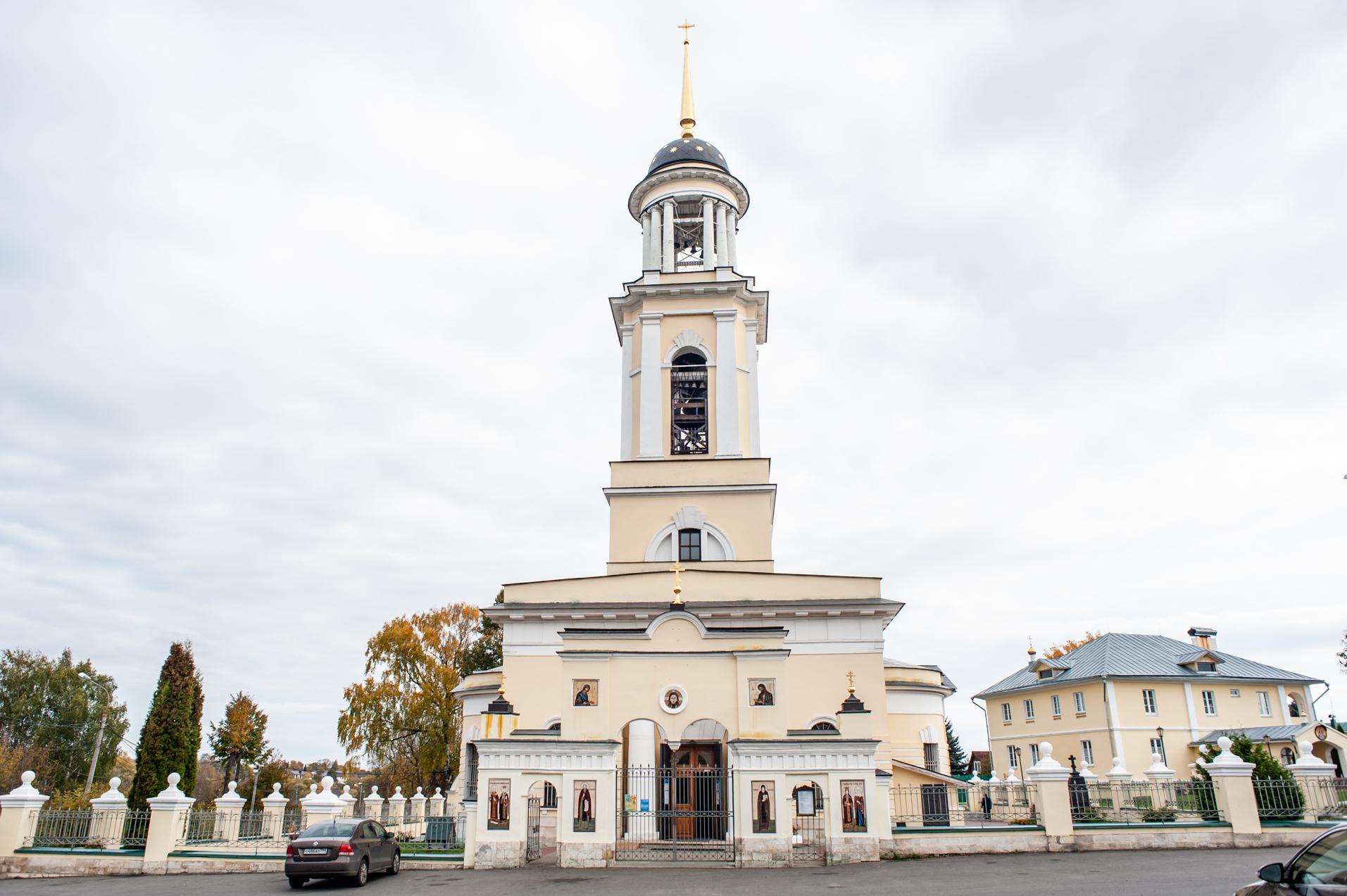 Чехов, Усадьба Лопасня-Зачатьевское, Анно-Зачатьевская церковь