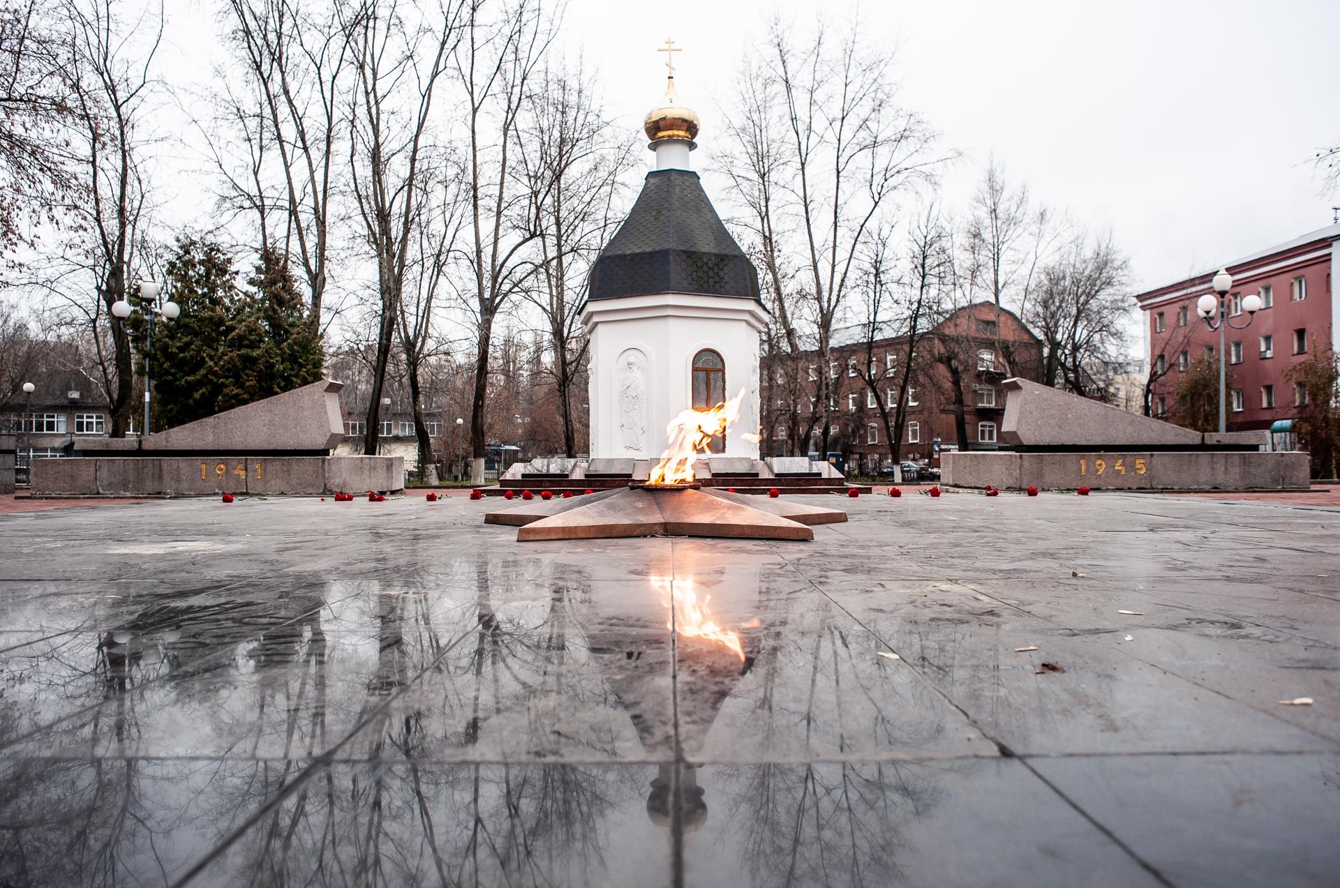 Реутов, Часовня Св.Георгия, Мемориал Победы