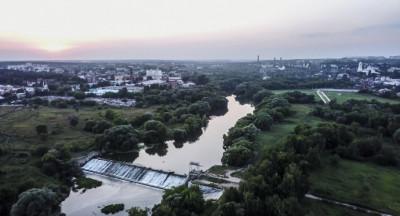 Принарский парк в Серпухове