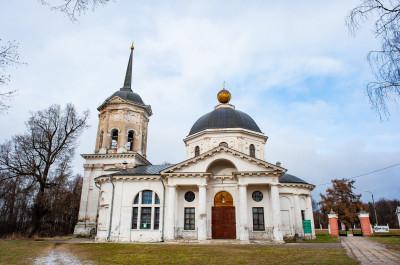Ярополец, Усадьба Гончаровых, Иоанно-Предтеченский Храм