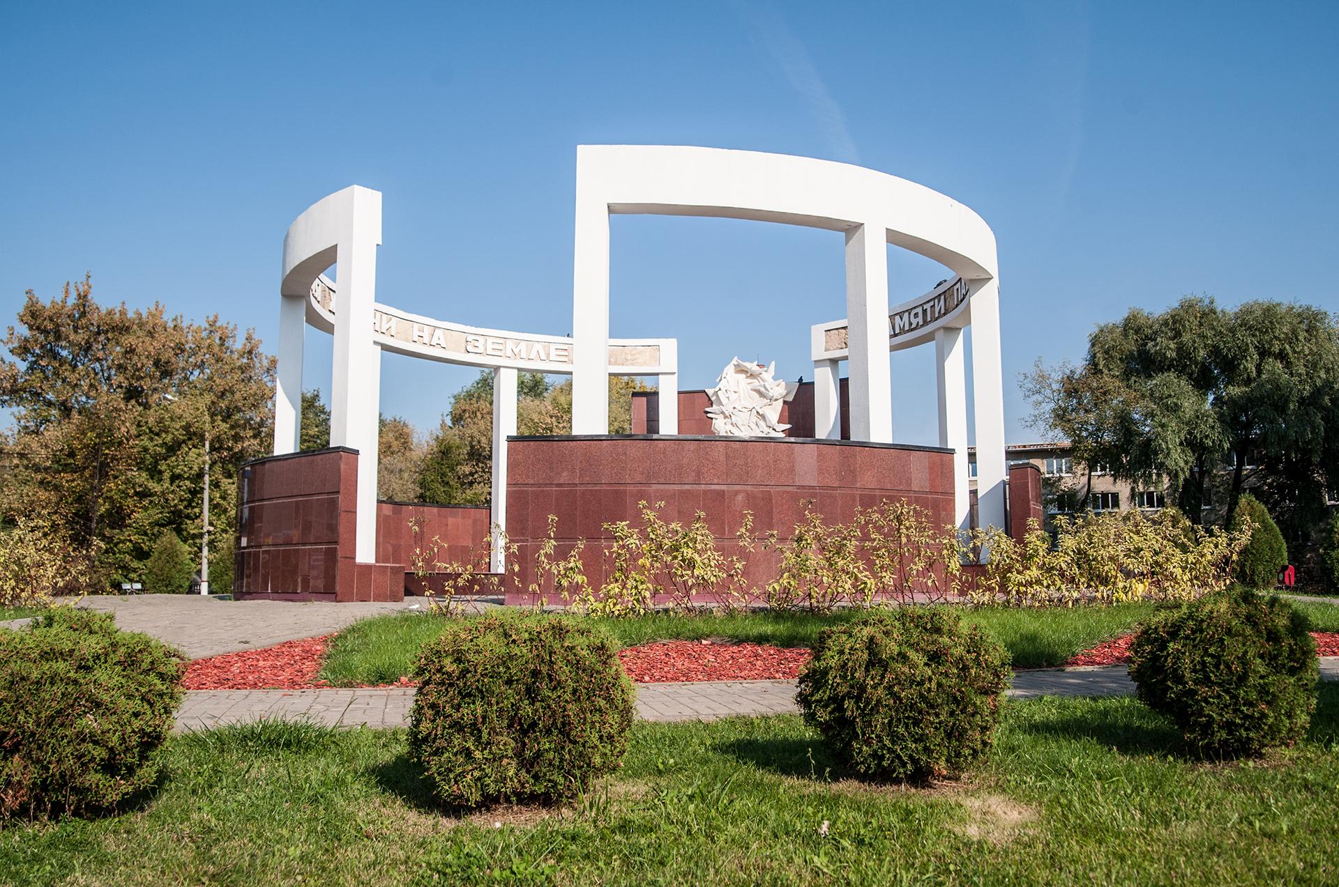Щелково, монумент Аллея памяти