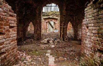 Деревня Удино, Церковь Покрова пресвятой Богородицы, усадьба Удино