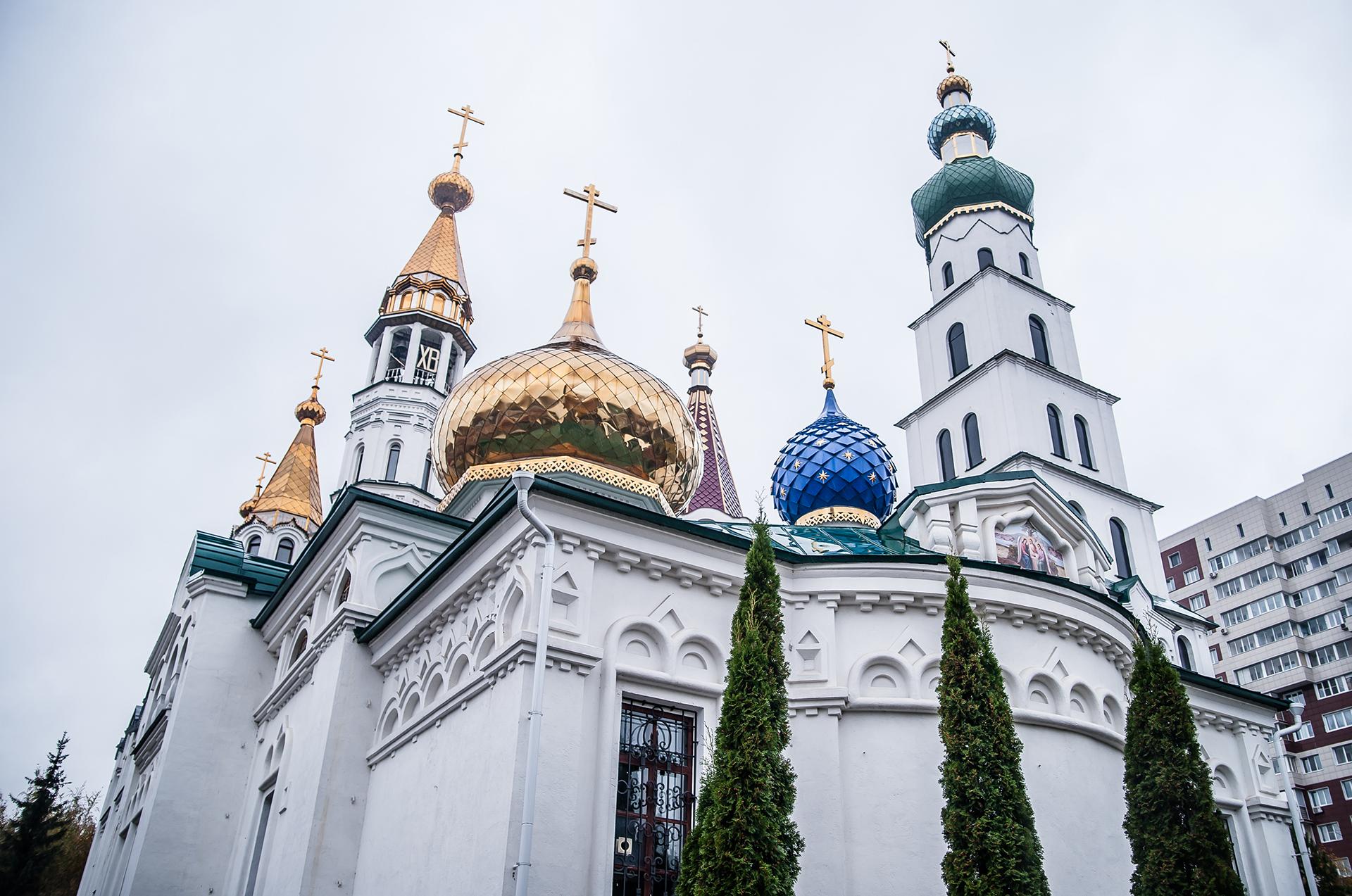 Пушкино, Храм Боголюбской Иконы Божьей Матери