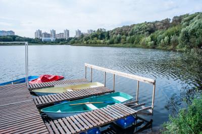 Борисоглебское озеро в Раменском