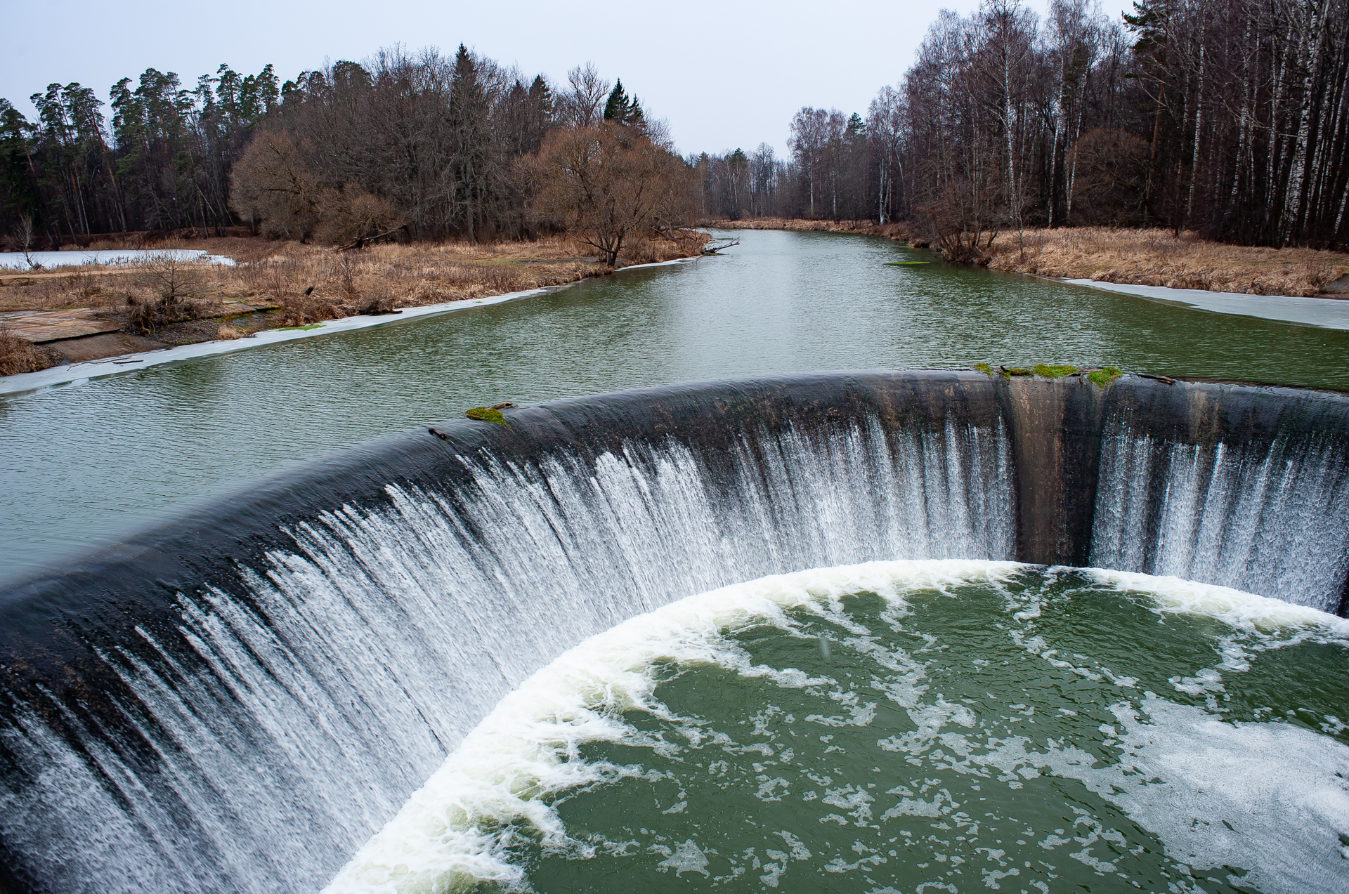 Ярополец, Ярополецкая ГЭС и Волокаламский водопад