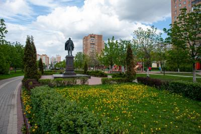 Железнодорожный, памятник Рябушинскому Дмитрию Павловичу