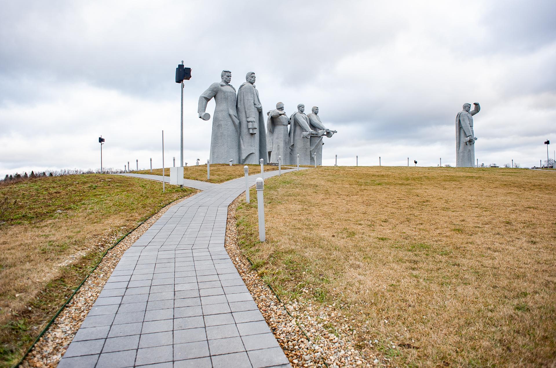 Волоколамск, Мемориал Героям Панфиловцам