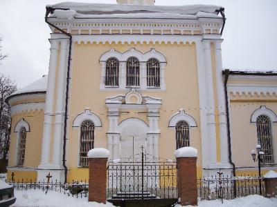 Никольский храм села Ромашково