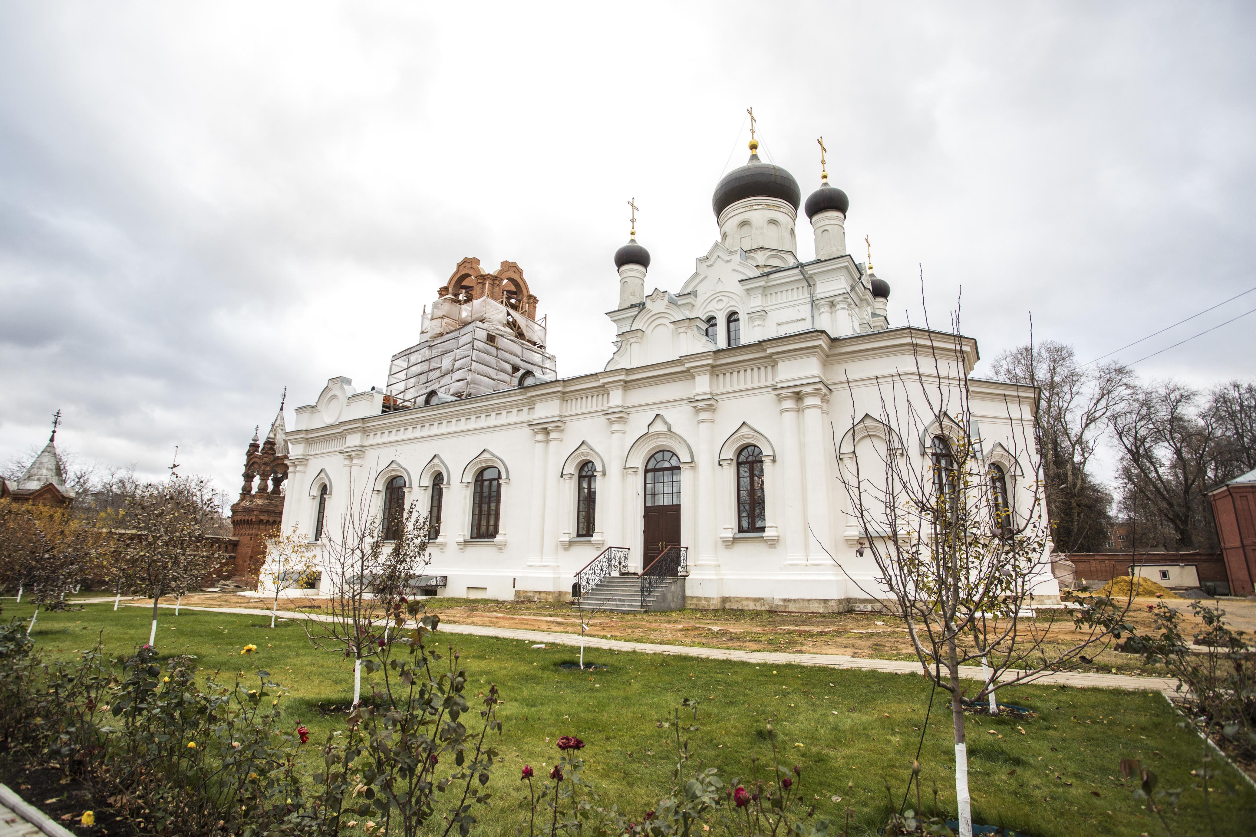 Троицкий Мариинский женский монастырь в Егорьевске.