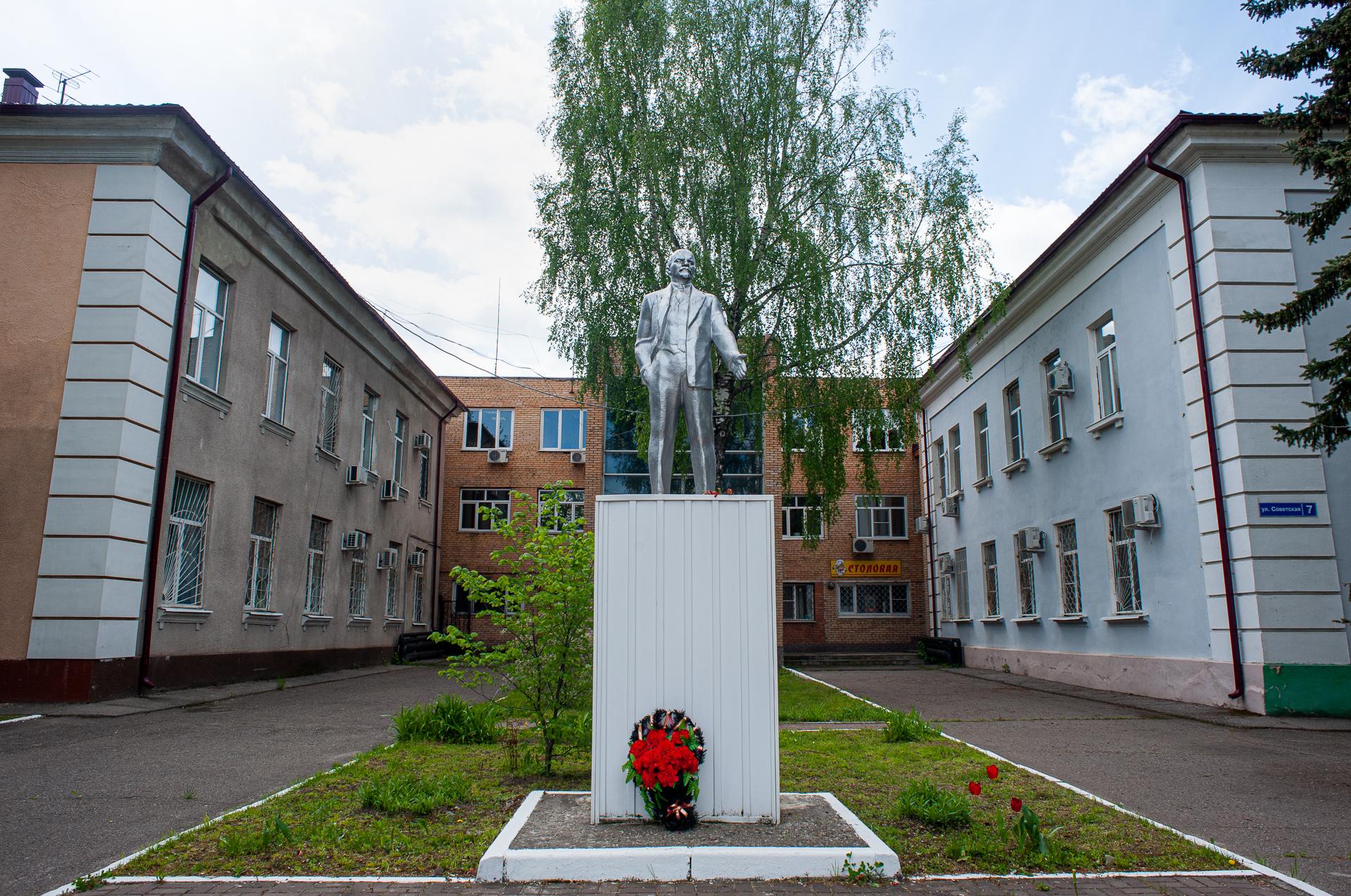 Луховицы, памятник Ленину
