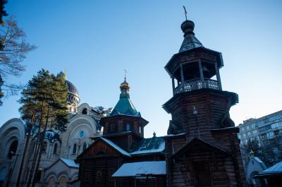Церковь Матроны Московской в Холодово