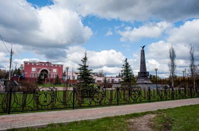 Фрязино, Памятник Воинам локальных конфликтов