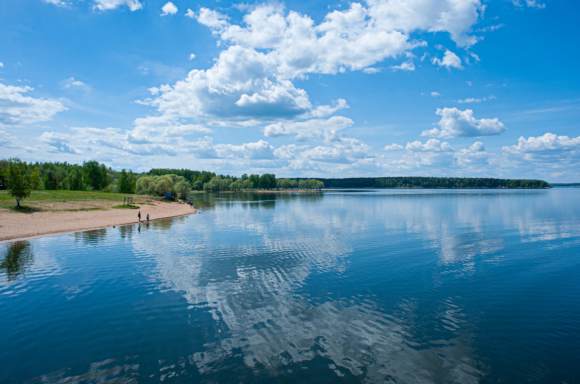 Руза, Озернинское водхранилище