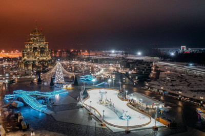 Зимний культурно-досуговый комплекс в военно-патриотическом парке «Патриот»