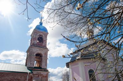 Село Якоть, Храм-часовня Новомучеников и исповедников Церкви Русской