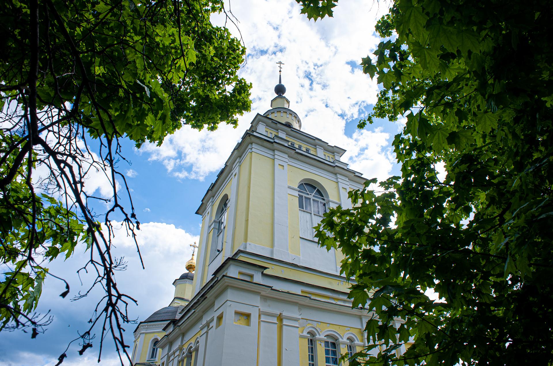 Руза,Церковь Покрова Пресвятой Богородицы