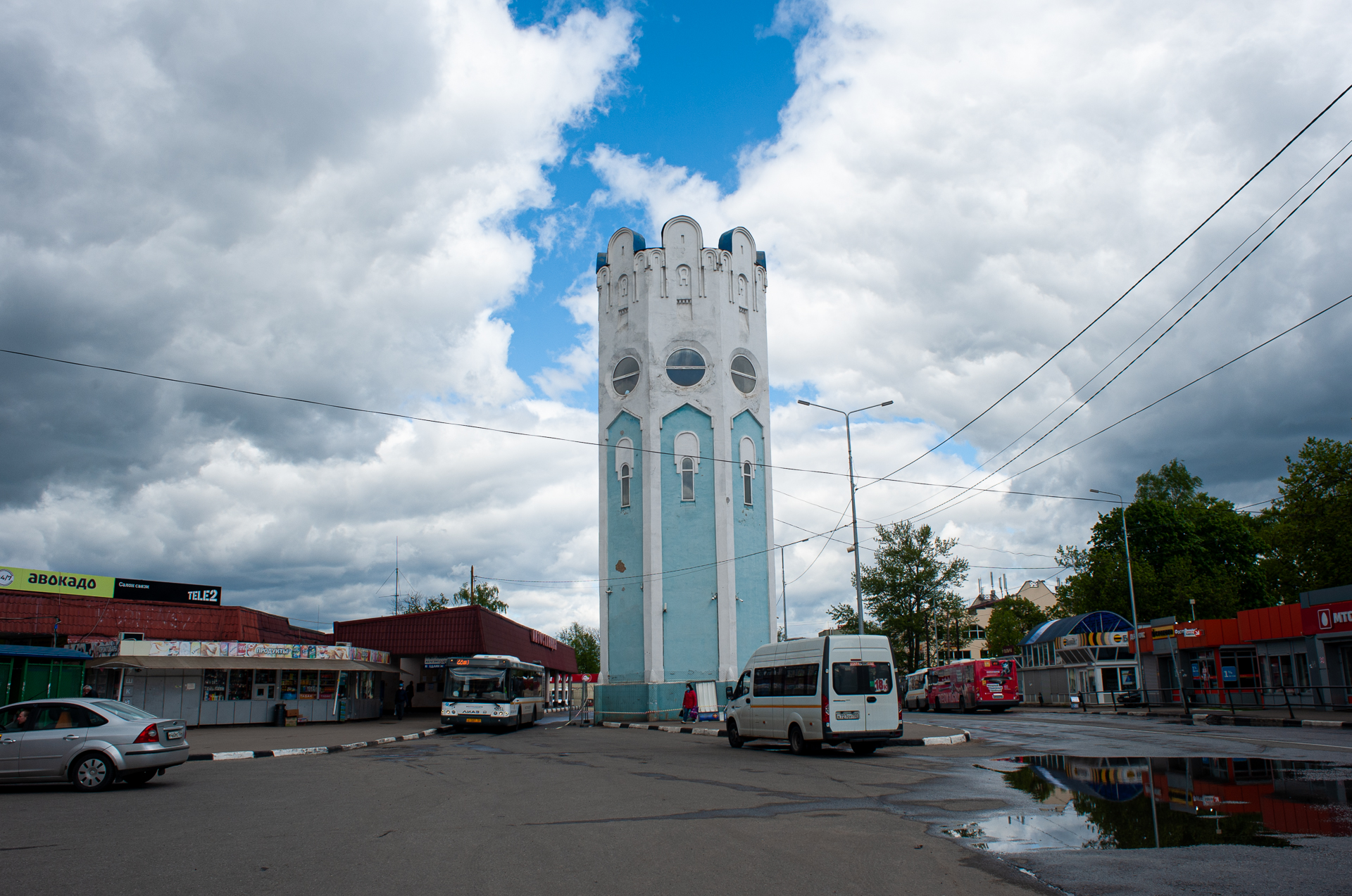 Пушкино, водонапорная башня