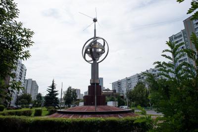 05_Королёв, Монумент «Первый искусственный спутник Земли»
