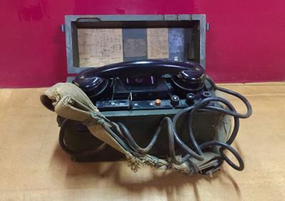 Музей памяти Лопасненского края. Полевой телефонный аппарат ТАИ-43