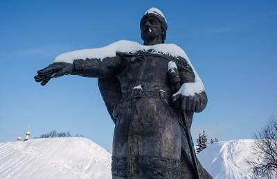 Дмитров, памятник Юрию Долгорукому