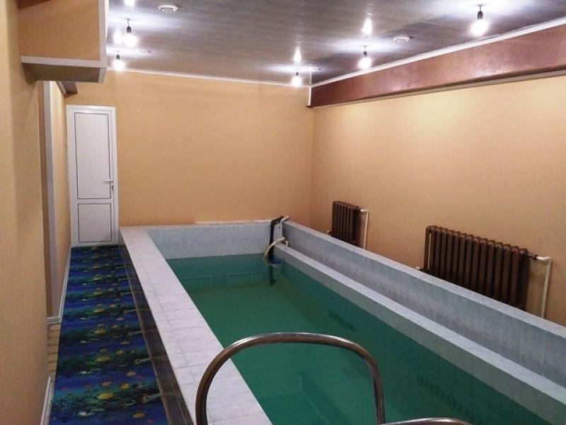 Усадьба Апраксиных. Сауна с бассейном
