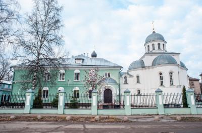 Храм святого преподобного Андрея Рублева