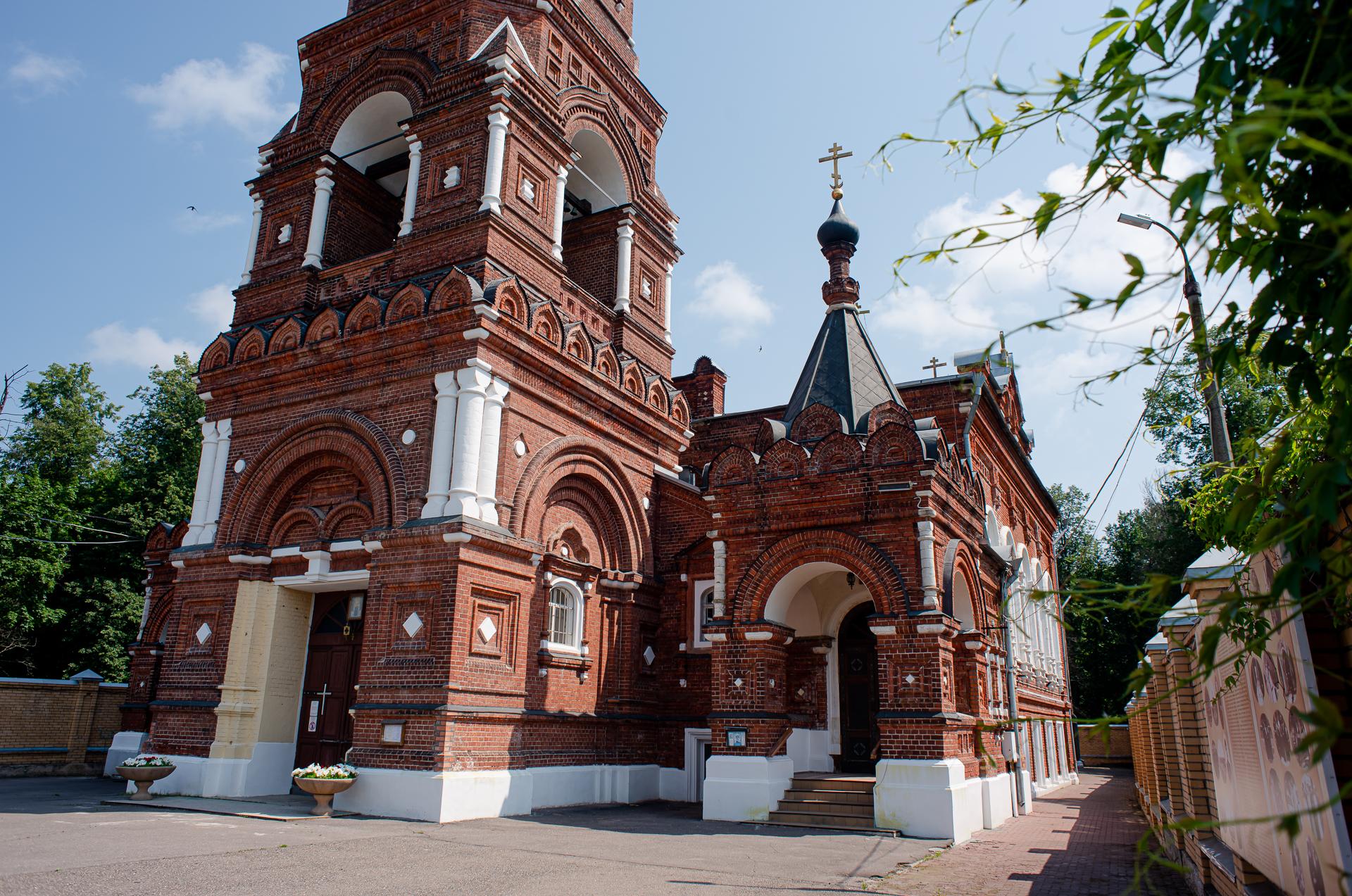 Павловский Посад, Покровско-Васильевский монастырь
