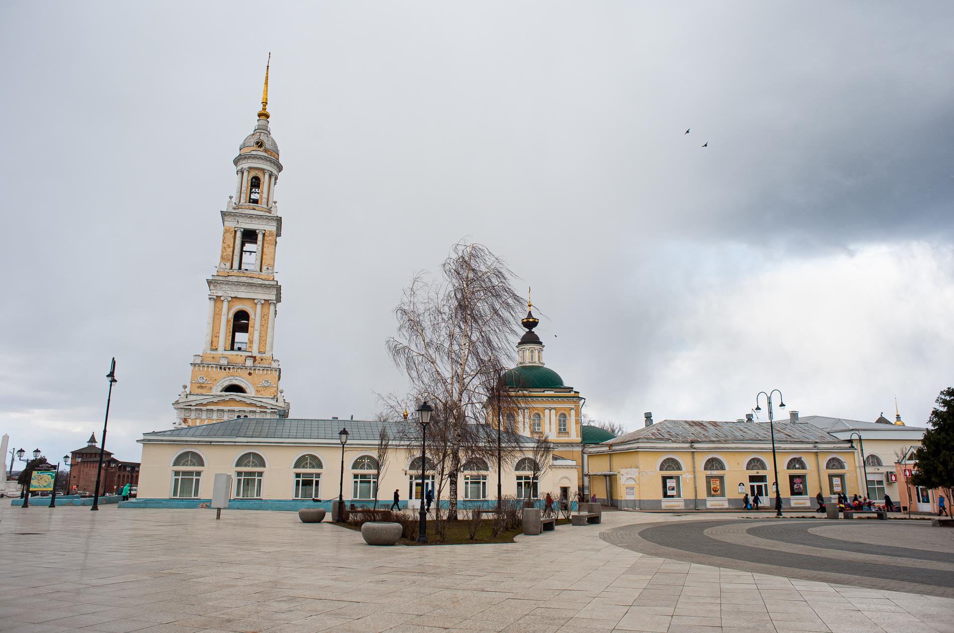 Весенняя Коломна. Иоанно-Богословский храм