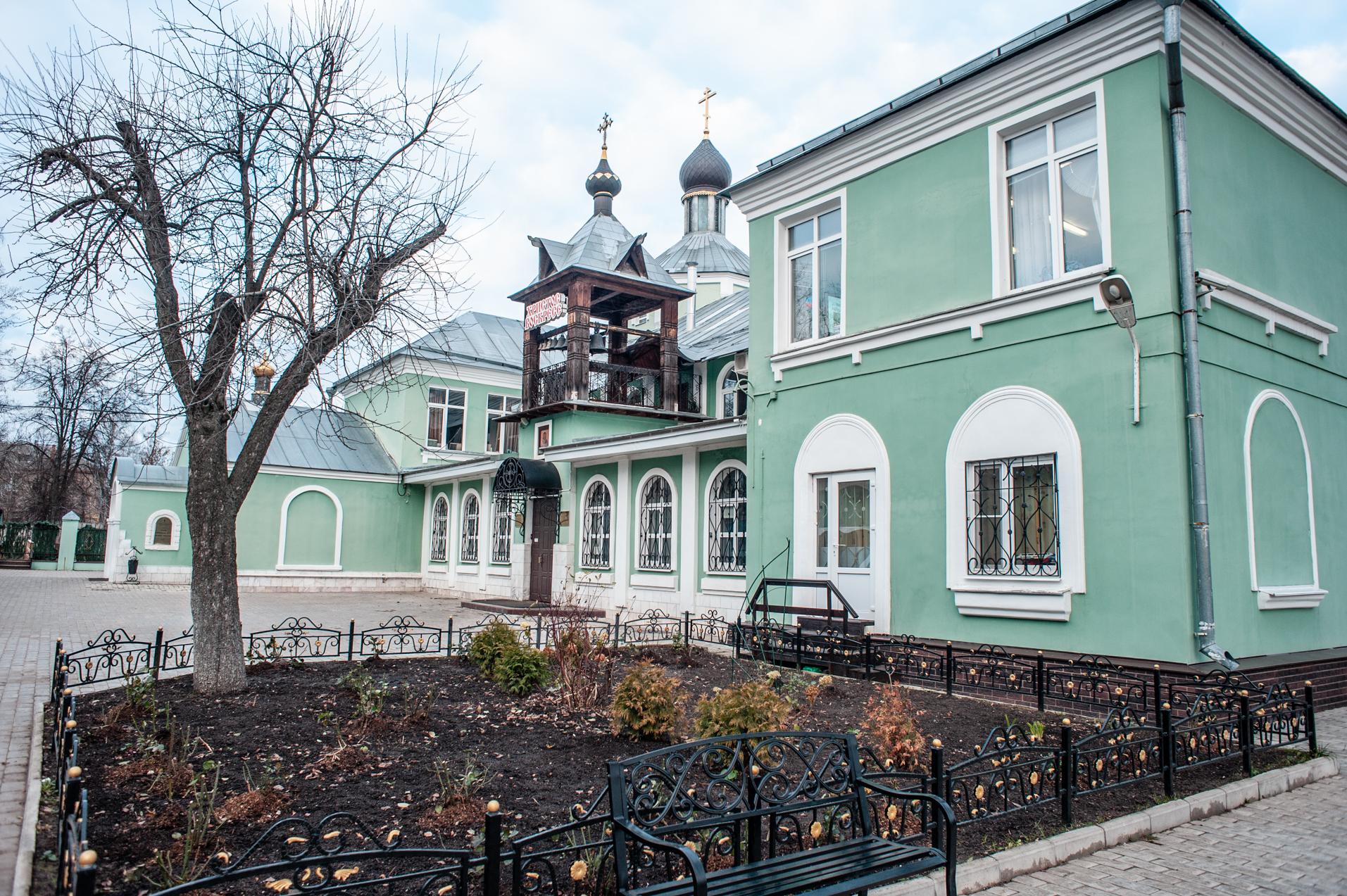 Электросталь,храм св.пр. Андрея Рублёва