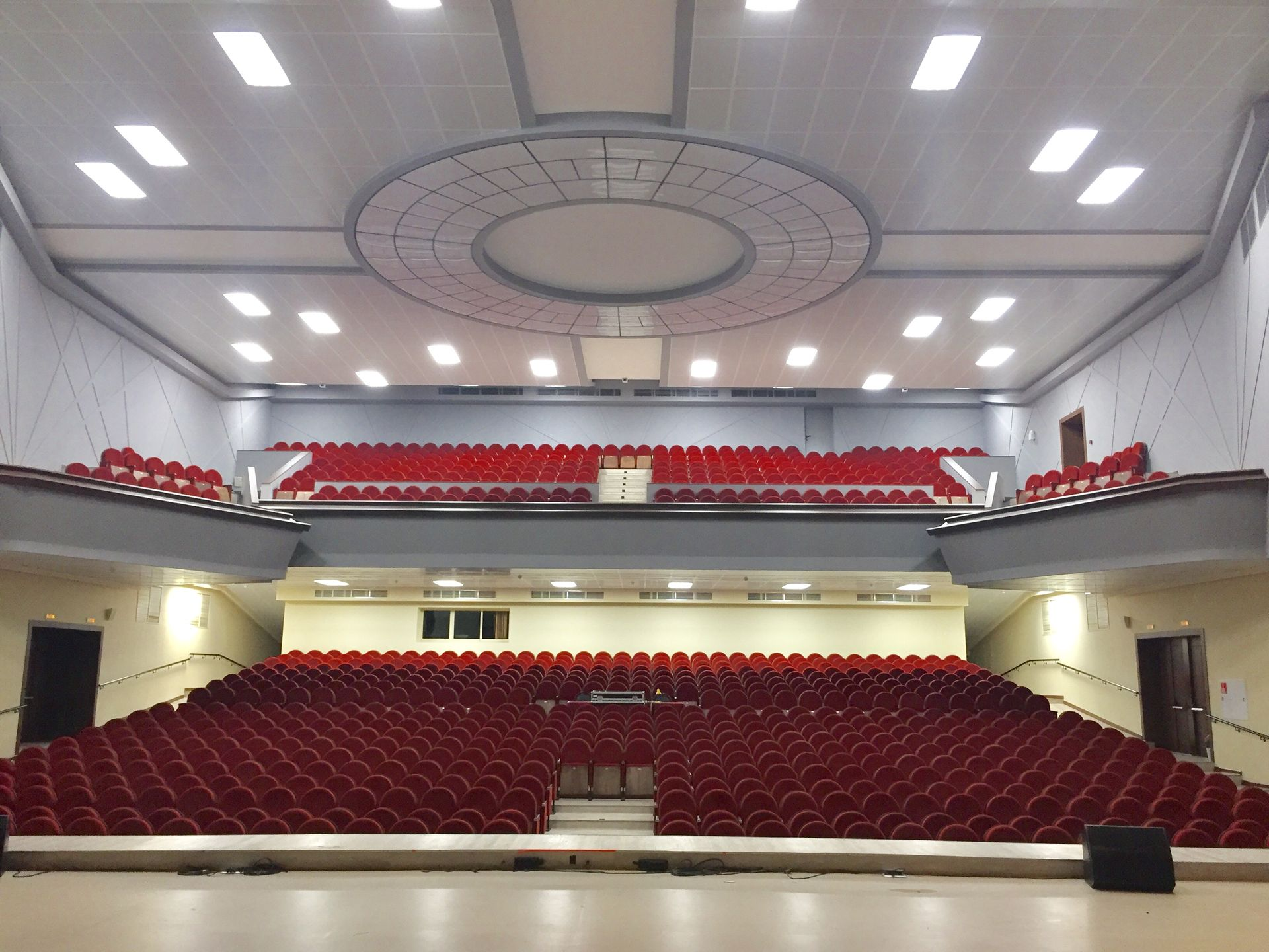 Зал делового комплекса «Мир» в Реутове