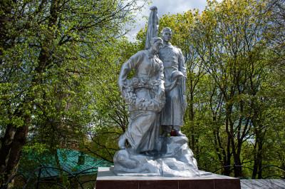 Верея,мемориал ВОВ