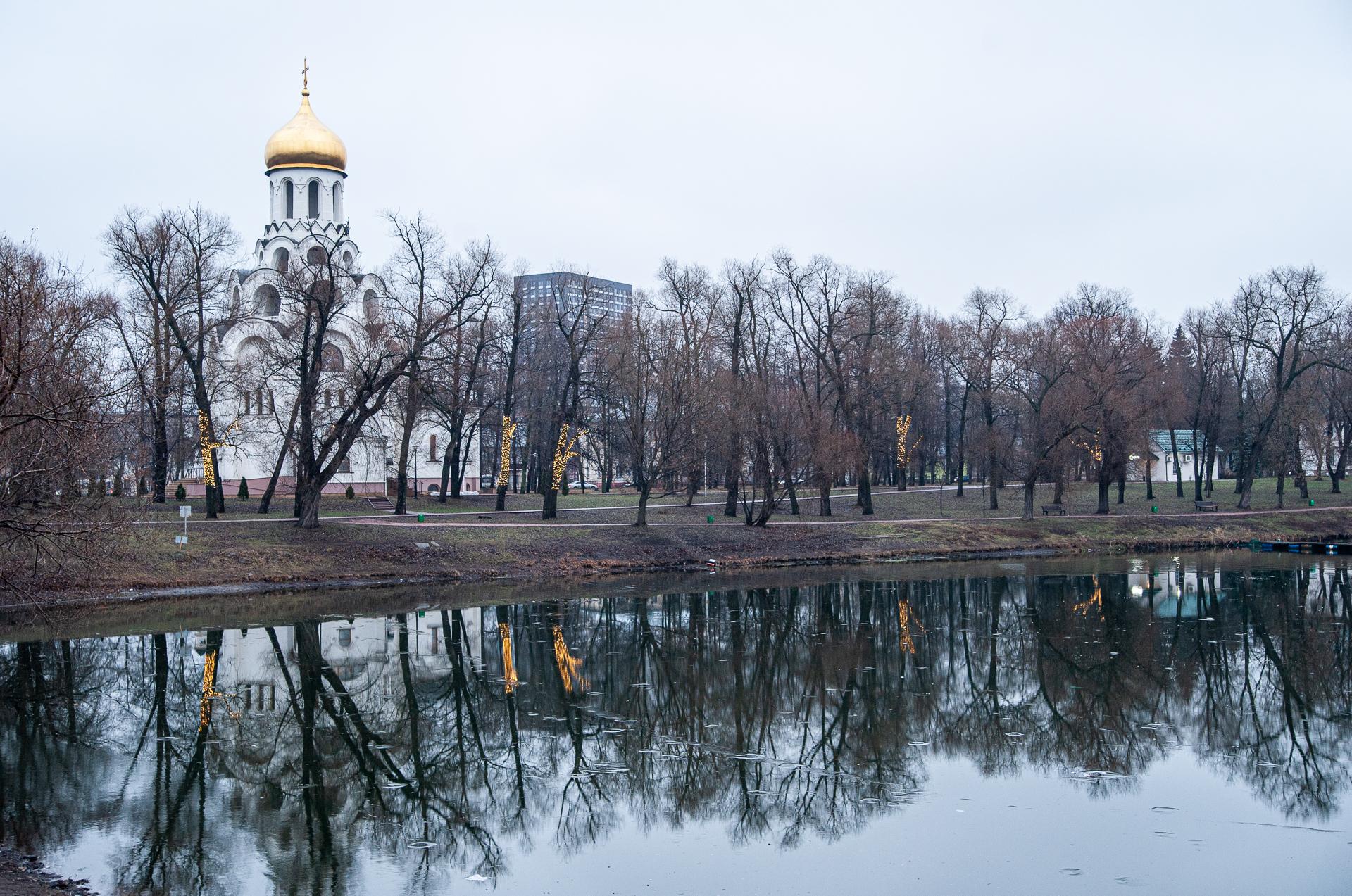 Котельники. Парк Белая Дача.
