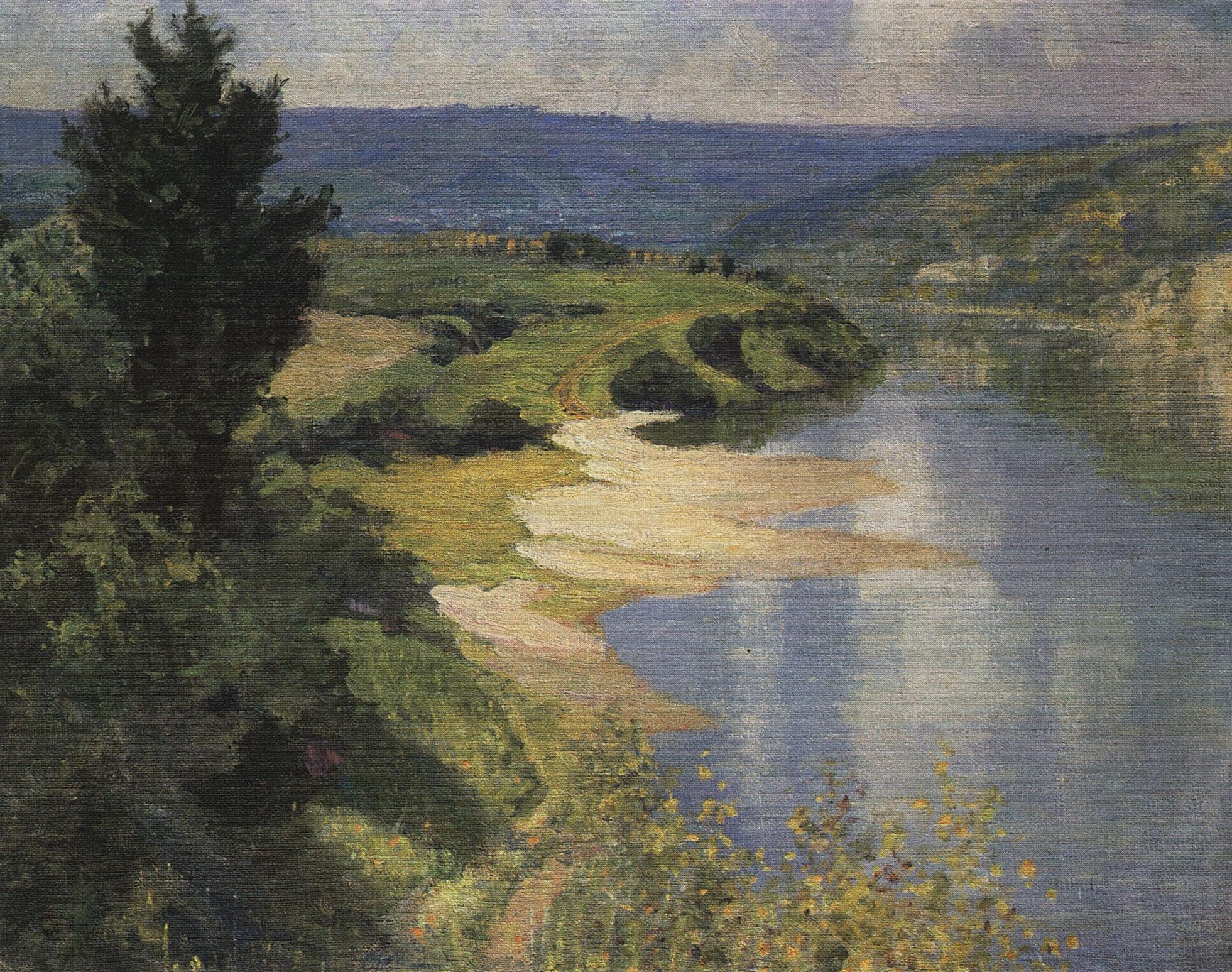 Василий Дмитриевич Поленов «Ока летом», 1890-е