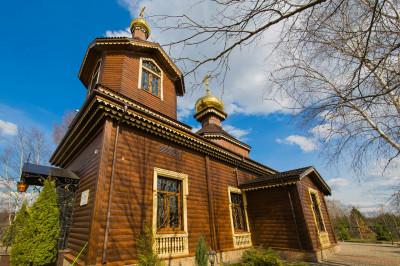 Храм Николы Чудотворца в Федоскино