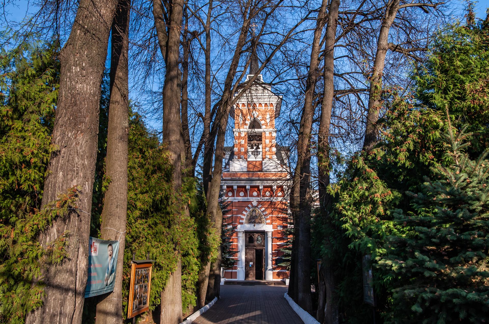 Ивантеевка, Храм Смоленской иконы Божией Матери