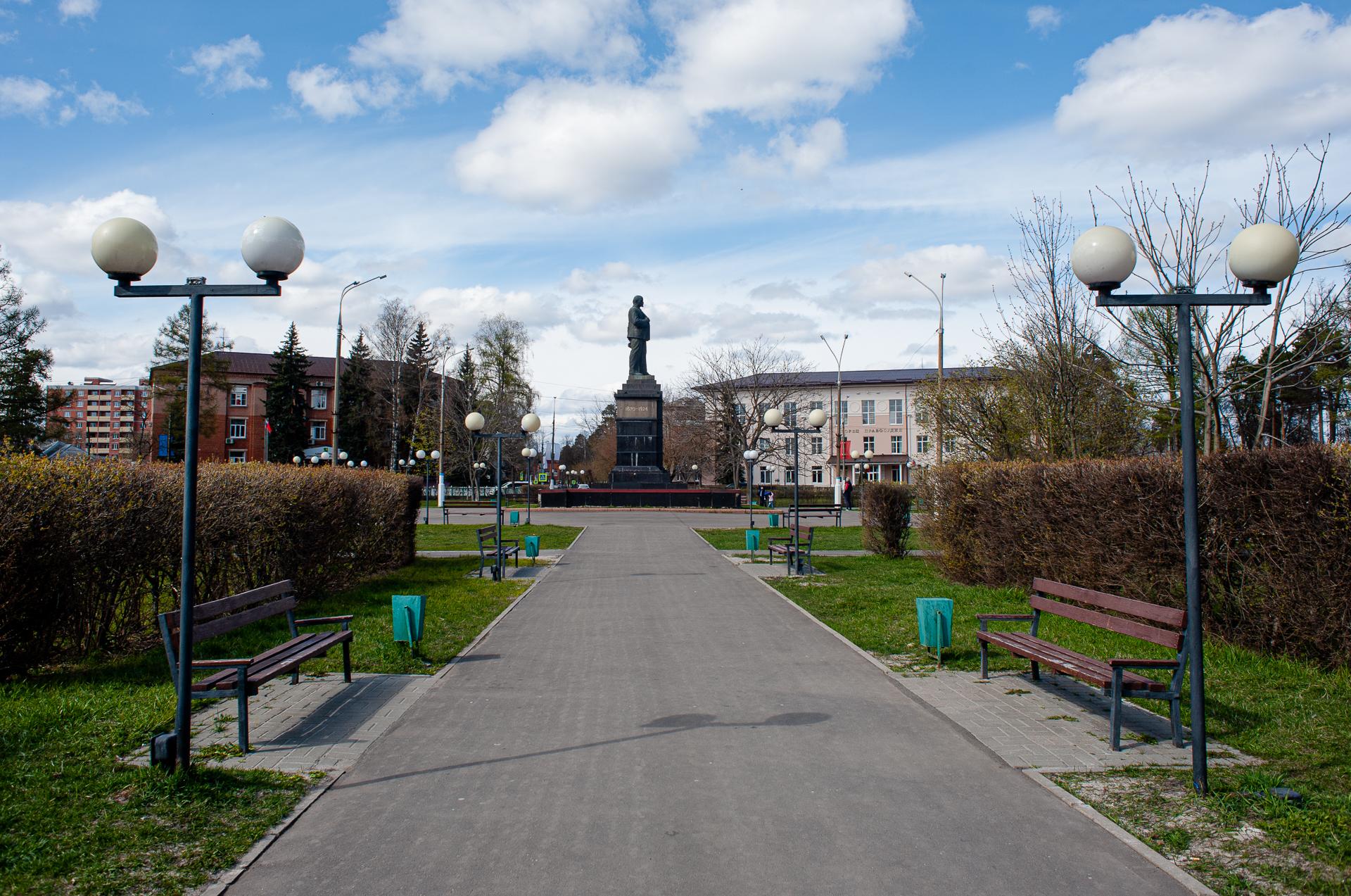 Шатура, памятник Ленину В.И.