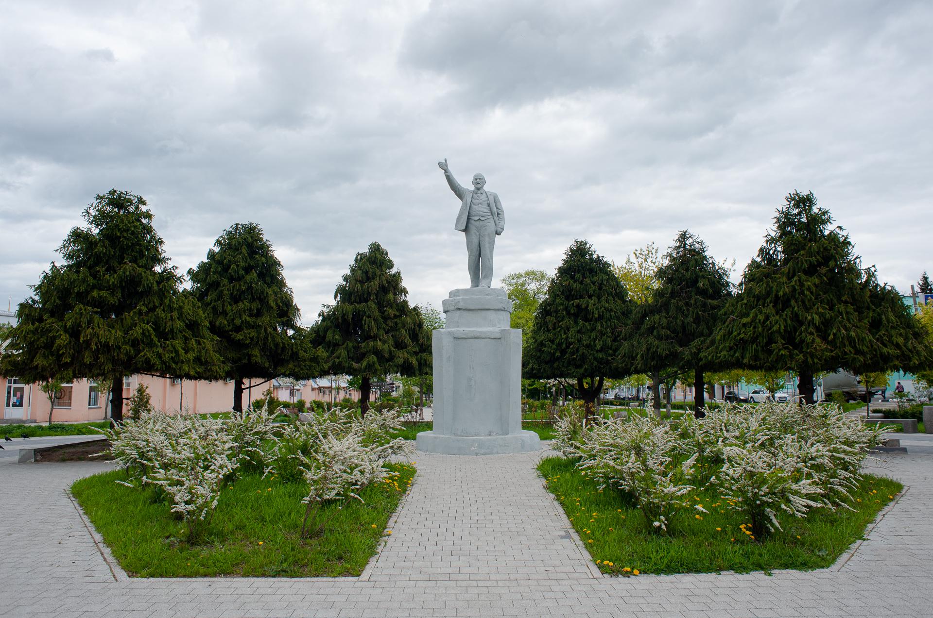 Коломна, памятник Ленину