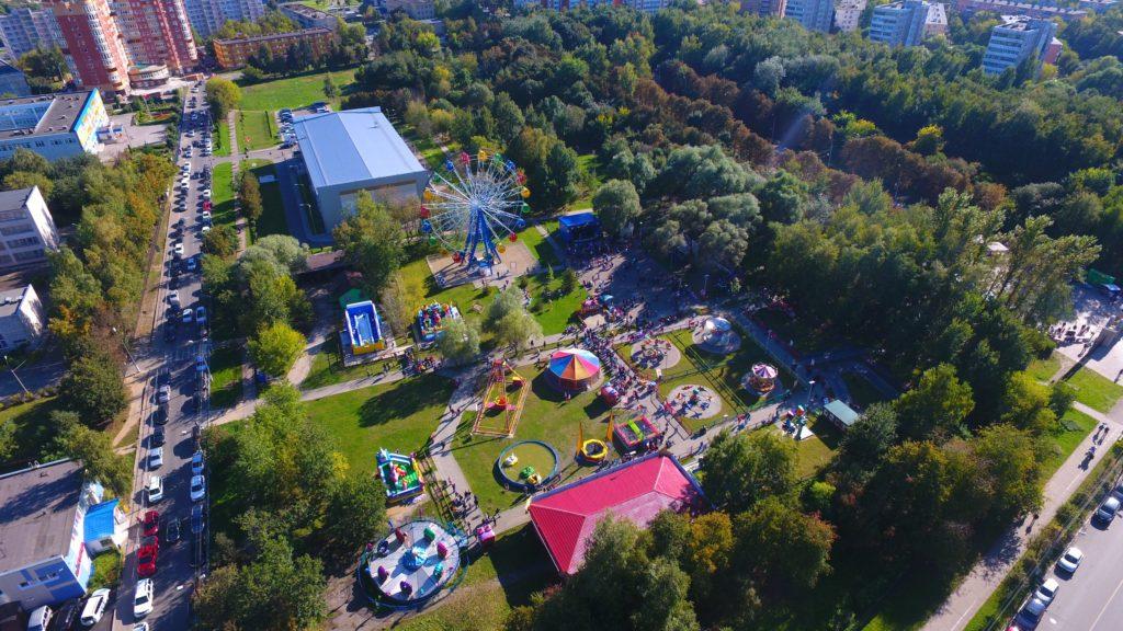 Парк «Питомник» в Серпухове