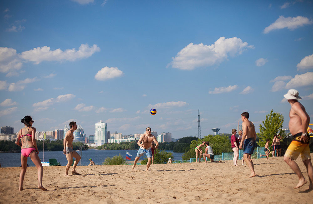 Пляж «Рублево»