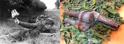 Музей памяти Лопасненского края. Связка гранат РГД-33