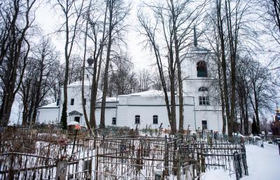 Клин, усадьба Демьяново, Церковь Успения Пресвятой Богородицы