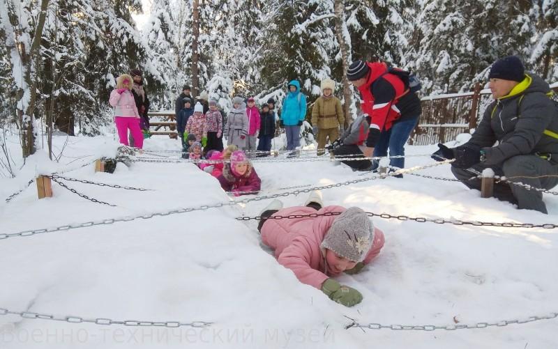 «Новый год в окопах» в Черноголовке