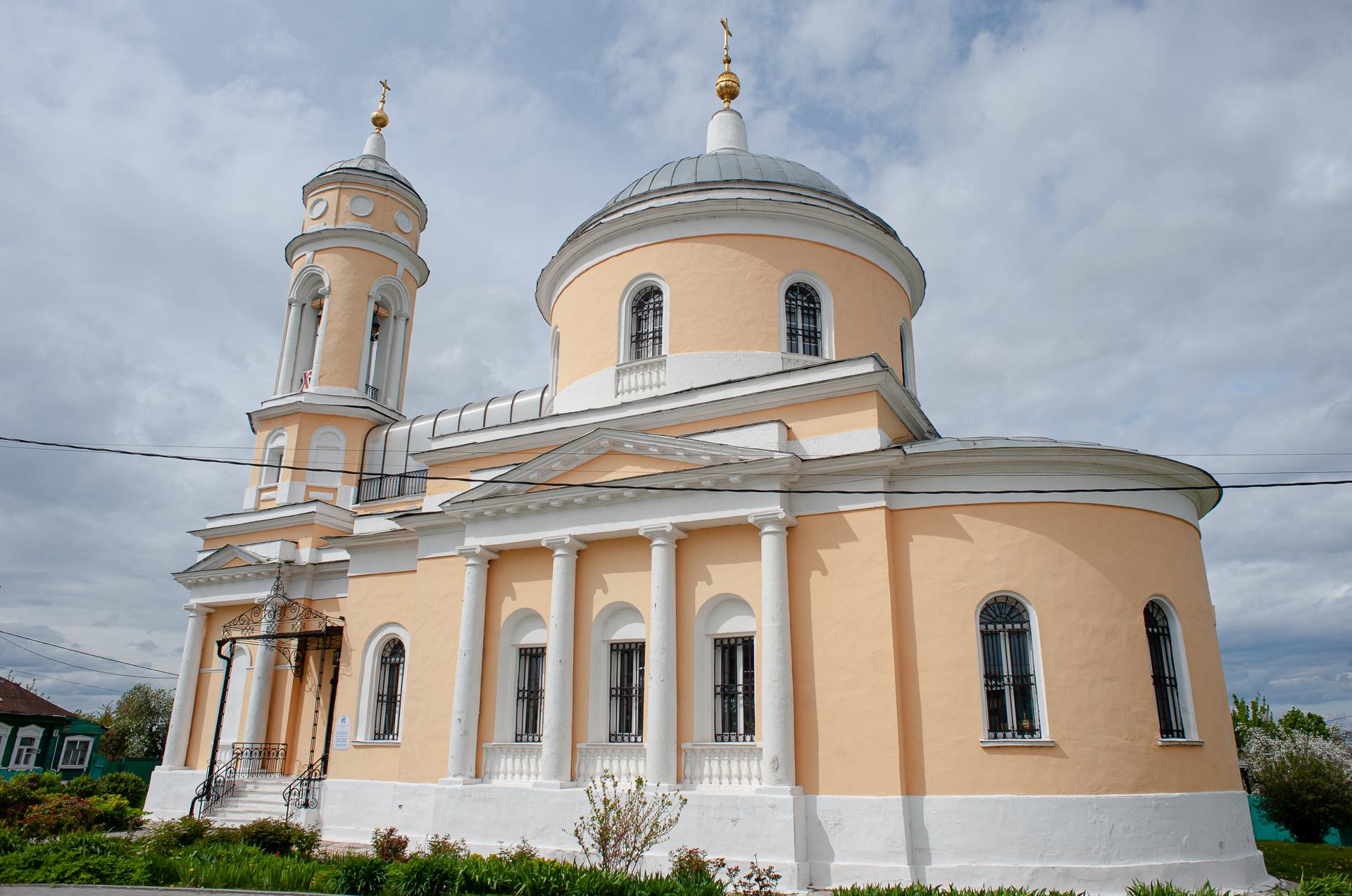 Коломна, Коломенский Кремль, Церковь Воздвижения Креста Господня